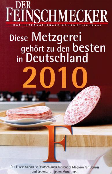 Feinschmecker Auszeichnung 2010