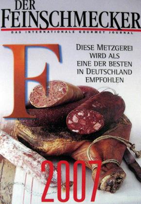 Feinschmecker Auszeichnung 2007