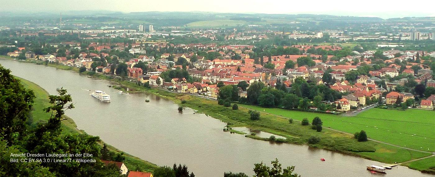 Dresden Laubegast an der Elbe